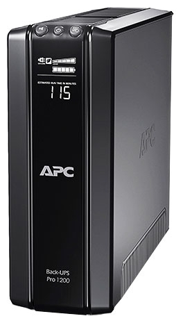 APC by Schneider Electric Back-UPS Pro 1200VA, AVR, 230V