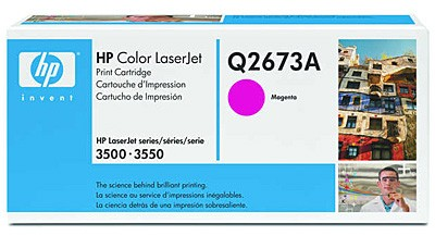 Тонер картридж HP Q2673A magenta for Color LaserJet 3500/3700