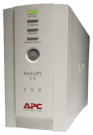 APC by Schneider Electric Back-UPS CS 350 USB/Serial