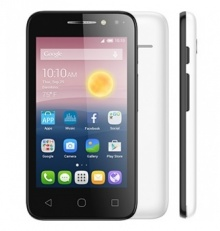 "Смартфон Alcatel Pixi 4 4034D 4Gb белый моноблок 3G 2Sim 4"" 480x800 Android 6.0 3.2Mpix 802.11bgn BT"