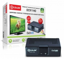 Ресивер DVB-T2 D-Color DC911HD ECO