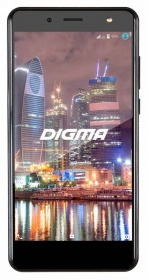 "Смартфон Digma Flash 4G VOX 8Gb черный моноблок 3G 4G 2Sim 5"" 720x1280 Android 6.0 8Mpix 802.11bgn B"