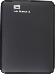"Жесткий диск WD Original USB 3.0 1Tb WDBUZG0010BBK-EESN Elements 2.5"" черный"