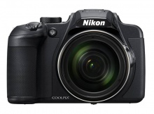 "Фотоаппарат Nikon CoolPix B700 черный 20.3Mpix Zoom60x 3"" 4K SDXC/SD/SDHC CMOS 1x2.3 IS opt 1minF tu"