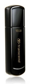 Флеш Диск Transcend 16Gb Jetflash 350 TS16GJF350 USB2.0 черный