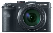 "Фотоаппарат Canon PowerShot G3 X черный 20.2Mpix Zoom25x 3.2"" 1080p SDXC/SD/SDHC CMOS IS opt 5minF r"