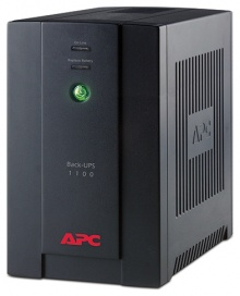 APC by Schneider Electric Back-UPS 1100VA with AVR, Schuko Outlets for Russia, 230V