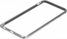 Бампер Melkco для Apple iPhone 6 Plus Q Arc Aluminum серебристый (APIP65ALQASRME)