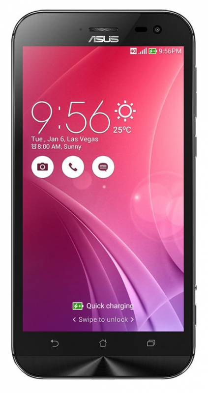 "Смартфон Asus ZenFone Zoom ZX551ML 128Gb черный моноблок 3G 4G 5.5"" 1080x1920 Android 5.0 13Mpix WiF"
