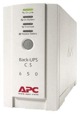 APC by Schneider Electric Back-UPS CS 650VA 230V