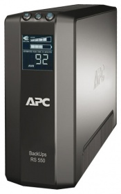 APC by Schneider Electric Back-UPS RS LCD 550VA