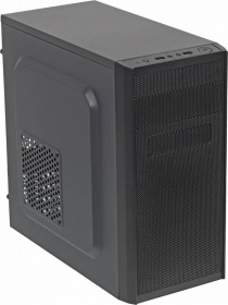 Корпус Accord A-08B черный w/o PSU mATX 2xUSB2.0 audio