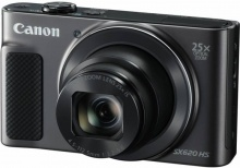 "Фотоаппарат Canon PowerShot SX620 HS черный 20.2Mpix Zoom25x 3"" 1080p SDXC/SD/SDHC CMOS 1x2.3 IS opt"