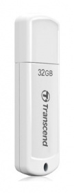 Флеш Диск Transcend 32Gb Jetflash 370 TS32GJF370 USB2.0 белый