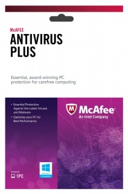 Ативирусное ПО McAfee AntiVirus Plus 2013 Intel Original (BXMAV1YRRUS 927707)