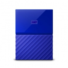 "Жесткий диск WD Original USB 3.0 2Tb WDBUAX0020BBL-EEUE My Passport (5400rpm) 2.5"" синий"