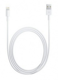 Кабель Apple MD818ZM/A USB-Lightning белый 1м для Apple iPhone 5/5c/5S для Apple iPad 4/mini/Air (MD