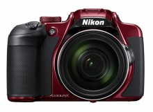 "Фотоаппарат Nikon CoolPix B700 красный 20.3Mpix Zoom60x 3"" 4K SDXC/SD/SDHC CMOS 1x2.3 IS opt 1minF t"