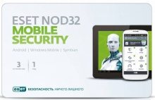 ПО Eset NOD32 Mobile Security 3ПК/1 год (NOD32-ENM2-NS(CARD)-1-1)