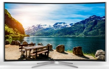 "Телевизор LED TCL 65"" L65C1CUS Curve черный/Ultra HD/60Hz/DVB-T/DVB-T2/DVB-C/USB/WiFi/Smart TV (RUS)"