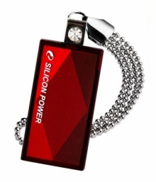 Флеш Диск Silicon Power 4Gb Touch 810 SP004GBUF2810V1R USB2.0 красный