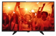 "Телевизор LED Philips 32"" 32PFT4101/60 черный/FULL HD/200Hz/DVB-T/DVB-T2/DVB-C/USB (RUS)"