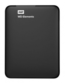 "Жесткий диск WD Original USB 3.0 500Gb WDBUZG5000ABK-EESN Elements 2.5"" черный"