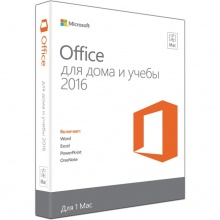 Офисное приложение Microsoft Office Mac Home Student 2016 Rus CEE Only No Skype Only Medialess (GZA-