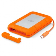 "Жесткий диск Lacie Original USB 3.0 1Tb STEV1000400 Rugged V2 2.5"" оранжевый Thunderbolt"